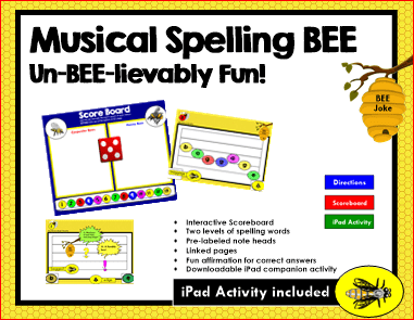 Musical Spelling Bee Cover