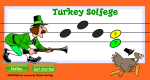Thanksgiving Turkey Solfege SMARTBoard Activity