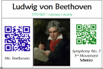 MadLip Composer Movies + QR Codes in the Music Room