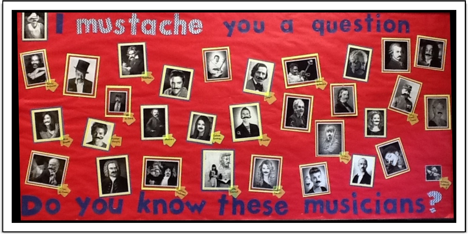 Using Aurasma in the Music classroomElementary Music Bulletin Boards