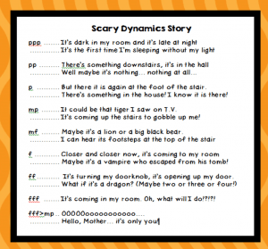 dynamic scary story explain everything · just a little more