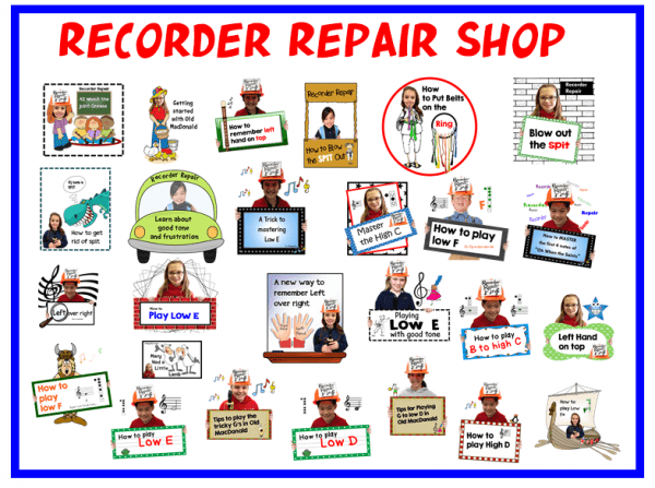 Recorder Repair Shop Image